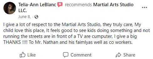 Kids2.2, Next Level Martial Arts of Houma