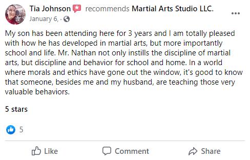 Kids2.4, Next Level Martial Arts of Houma